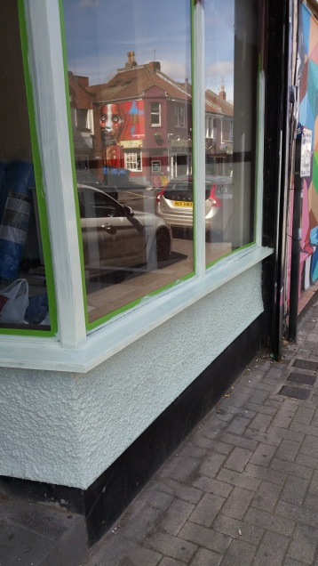New shop front
