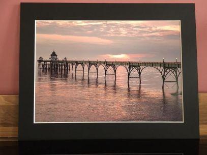 Clevedon Pier in Evening Sunlight