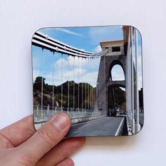 Pieces Of Bristol Coaster - Walking Clifton Suspension Bridge