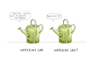 Watering cant