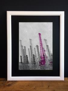 Crane Purple